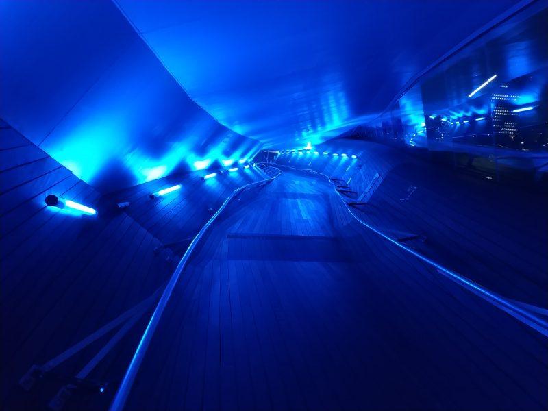 夜の大さん橋